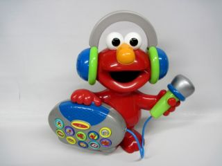 Elmo Pretend Radio w Sing Along Microphone Cool Toy