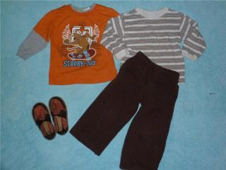 Baby Boys Fall Winter Clothes Outfit Lot Size 3T Great Brands