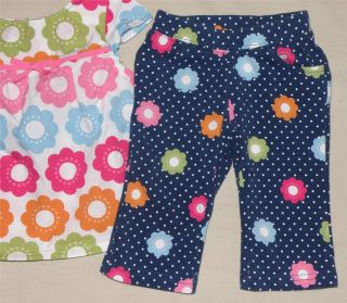 Gymboree Smart Sweet Baby Girl Shirt Pants Socks Clothes Size 3 6 Months Lot