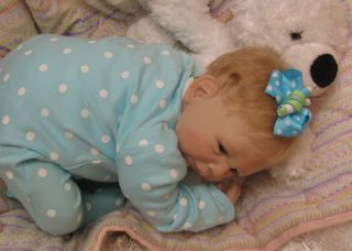 "Reborn Paisley by Denise Pratt Now Gorgeous Baby Girl ""Alexis"""