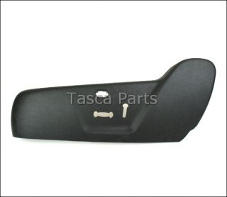 New LH Front Seat Cushion Valance Charcoal Black 2006 Lincoln Navigator