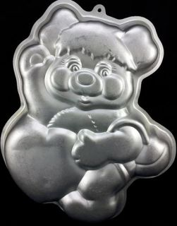 Wilton Vintage Cake Pan 2105 2060 PC Popple