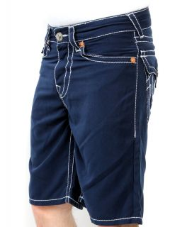 Mens True Religion Jeans Swimwear Board Shorts PCH 5 Pkt Navy