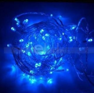 60 LED 10M Solar String Fairy Lights Party Xmas Outdoor
