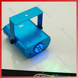 Mini 8 LED Laser Stage Projector Lighting Sound Active