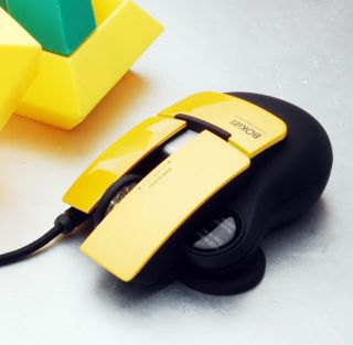 1600 dpi Laser Transformers Bumblebee USB Optical Scroll Wheel Gaming Mouse Mice 879862003517