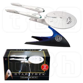 1 50 USS Enterprise NCC 1701 Hot Wheels Star Trek Movie 2009 Scale Mattel U s S