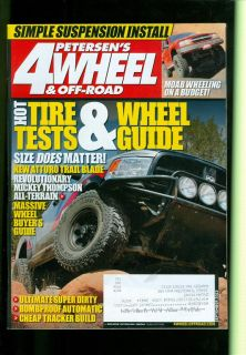 2013 Petersen's 4 Wheel and Off Road Hot Tire and Wheel Tests and Guides
