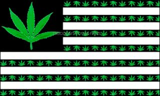 USA Marijuana Leaf Flag Dope Weed 420 Pot Joint Party Fun Sign 3x5 Banner Flag