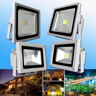 10W 30W 50W Cool Warm White RGB LED Flood Light Lamp Spotlight Waterproof IP65