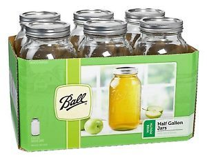 Mason Jars Lids Bands Preserving Food Storage Containers Refrigerators Kitchen
