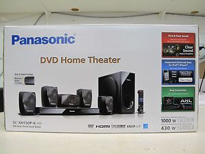 Panasonic SC XH150P K DVD Home Theater System for RV Motorhome