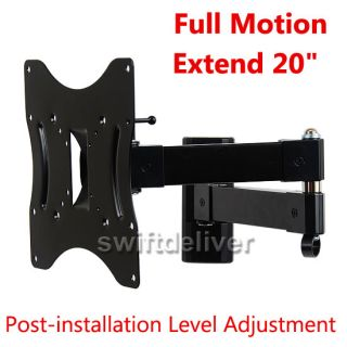 Articulating Tilt Swivel TV Monitor Wall Mount LCD LED22 23 24 26 32 37 40 42CY8