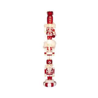 "Kurt Adler Christmas 20"" Candy Nutcracker Stacker"