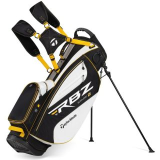 New TaylorMade RocketBallz RBZ Stage 2 White Black Yellow Stand Golf Bag