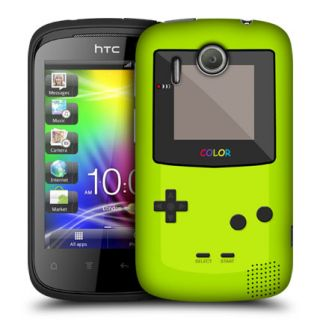 Genuine Head Case Designs Game Boy Classic Green Case Cover for HTC Explorer