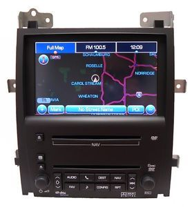Cadillac Escalade Navigation GPS Radio 6 Disc CD DVD Player Ext ESV Factory Unit