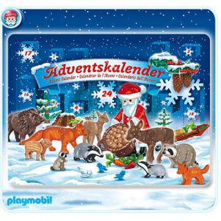 Playmobil 4155 Christmas in Forest Advent Calendar New