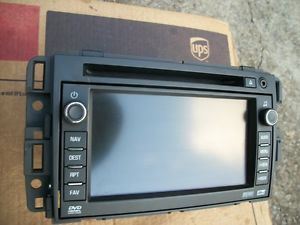2010 2011 2012 2013 Navigation GPS Radio GM Chevrolet Unit Tahoe Suburban