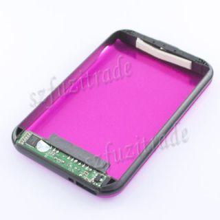 "Hot Pink Flower Printing USB 3 0 2 5"" SATA HD HDD Hard Drive Disk Case Enclosure"
