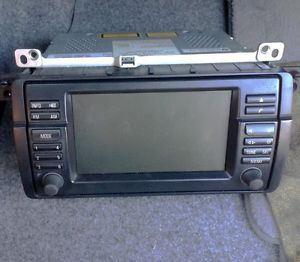 BMW E46 3 Series SAT Navigation GPS 16 9 LCD Screen Monitor CD Head Unit MK4