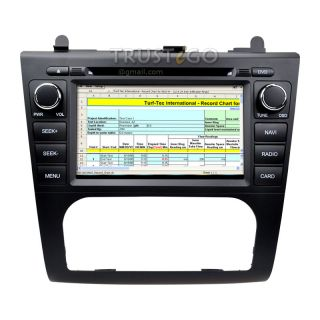 Nissan Altima in Dash GPS Navigation Radio AV Receiver Bluetooth CD DVD Stereo