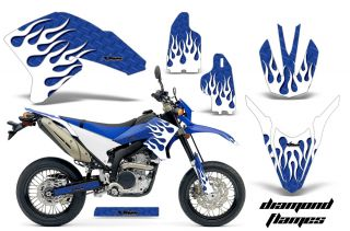 AMR Racing Off Road Motorcycle Graphic MX Decal Kit Yamaha WR 250 x R 07 10 Dmwu