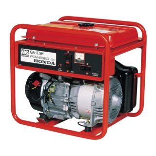 Multiquip 6,000 Watt Honda Portable Gasoline Generator with Recoil Start   GA25H