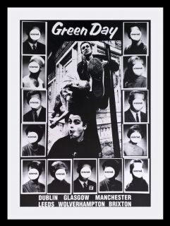 Green Day Billie Joe Armstrong Tour Poster New Nimrod