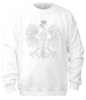 White Eagle in ASCII Code T Shirt Sweatshirt Bag Mens Womens Toddlers