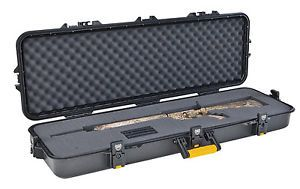 Lockable Weatherproof Hard Sided Gun Case Guard AW Tactical Case 42 inch New