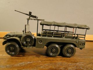 Hand Built Assembled Plastic Army Military Kit Model Truck Lot G01