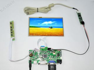 M NT68676 2A HDMI DVI VGA Audio LCD LED Controller Board LVDS DIY 2048 1152