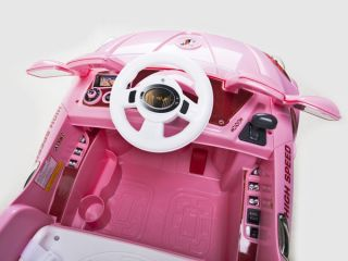 Ride on Car 12V Audi Style Kids Power Wheels w  Remote Control Pink