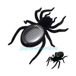 Funny Solar Powered Spider Toy Robot Insect for Kids