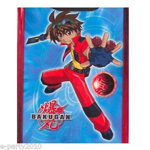 1 Bakugan Paper Gift Bag Birthday Party Supplies