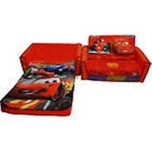 Disney Pixar Cars Convertible Flip Open Sofa to Bed Seat Chair Lounge