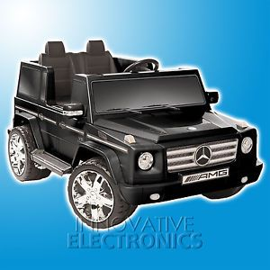 Brand New Ride on Mercedes Benz G55 12 Volt Kids Toy Truck Electric Car Vehicle