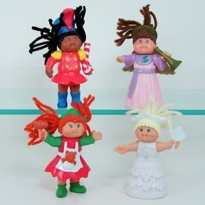 Cabbage Patch Kids Dolls Toys McDonalds 1994 Complete Set Angel Snow Fairy