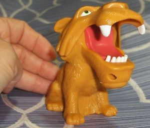 Burger King BK Kids Ice Age Diego Tiger Toy Figure Cake Topper Stocking Stuffer