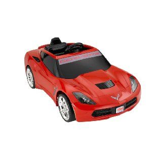 Fisher Price Power Wheels 12V Battery Red Corvette Car Ride on Toy