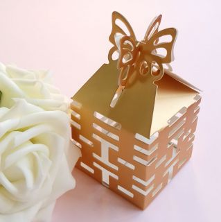 50 100 200 300 Double Happiness '囍' Candy Boxes Gift Boxes Wedding Party Favor