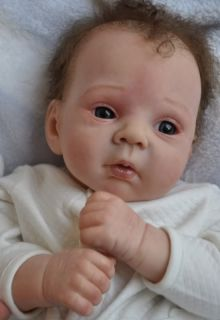 Details about So Real Beautiful Reborn Baby Doll MiaAdrie Stoete