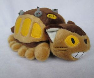RARE Japan My Neighbor Totoro Cat Bus Kitten Soft Plush Doll Toy Figure Baby Kid