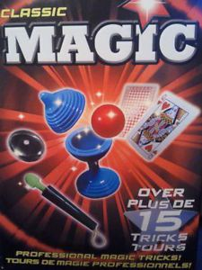 Classic Magic New Professional 15 Magic Tricks 6 Kids Learning Toy