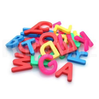 26 Pcs Color Magnetic Alphabet Capital Letters Magnet Kids Toy Gift Learning Set