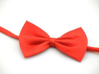 New CWD Red Dog Puppy Cat Pet Toy Kid Children Cute Bow Tie Necktie Clothes