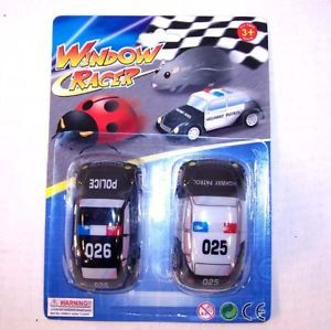 12 Set Police Car Window Racers Kids Toys Novelty Cars
