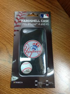 Tribeca New York Yankees Hard Shell Case for Apple® Iphone® 4 Black