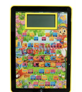 English Learning Computer Education Toy Tablet Gift for Baby Kids Child